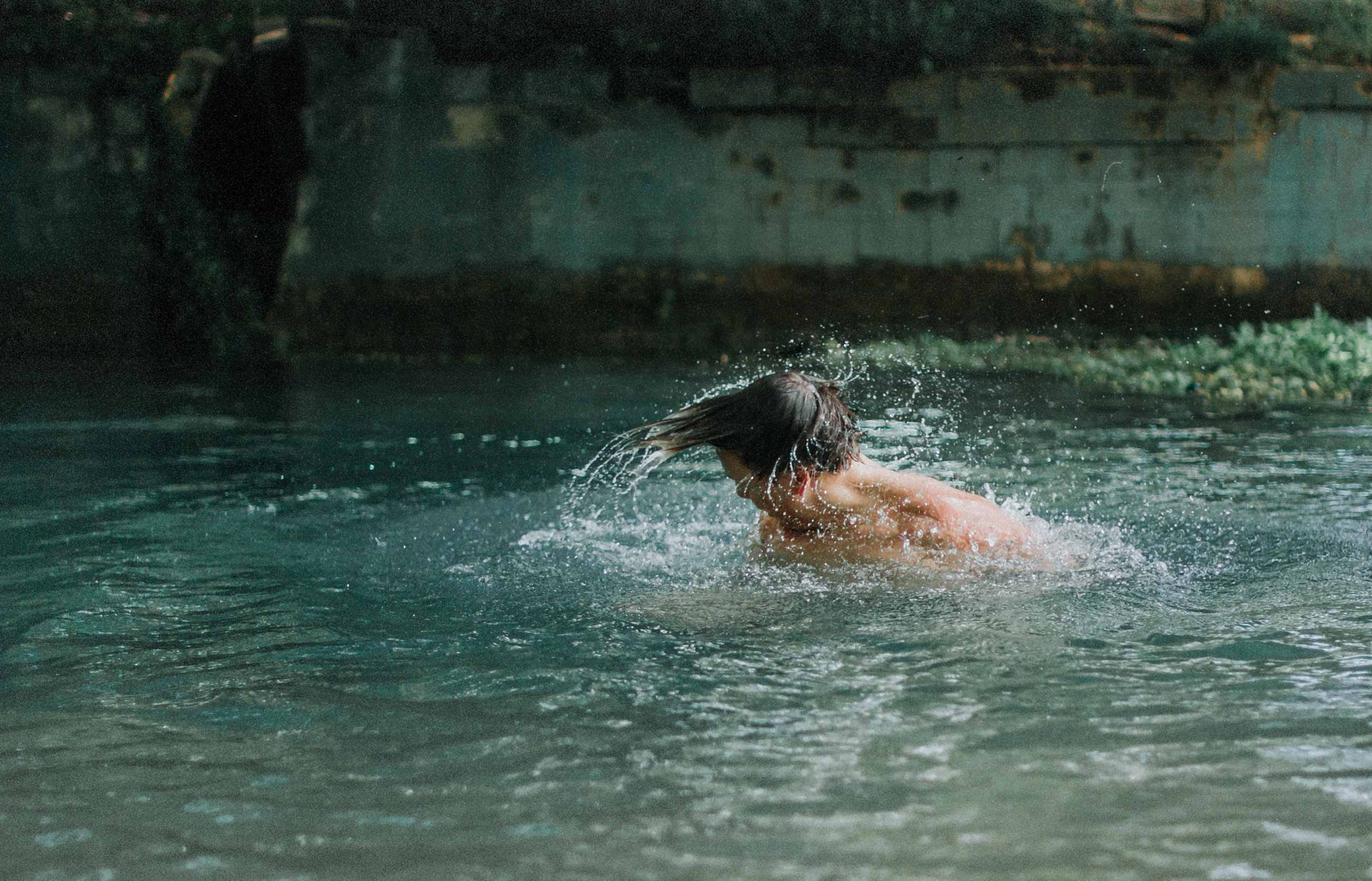 Swimming is a great way to improve your cardio. Bonus points if you can do it outside.