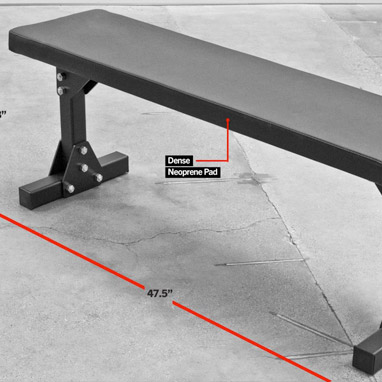 Rogue Bolt Together Bench