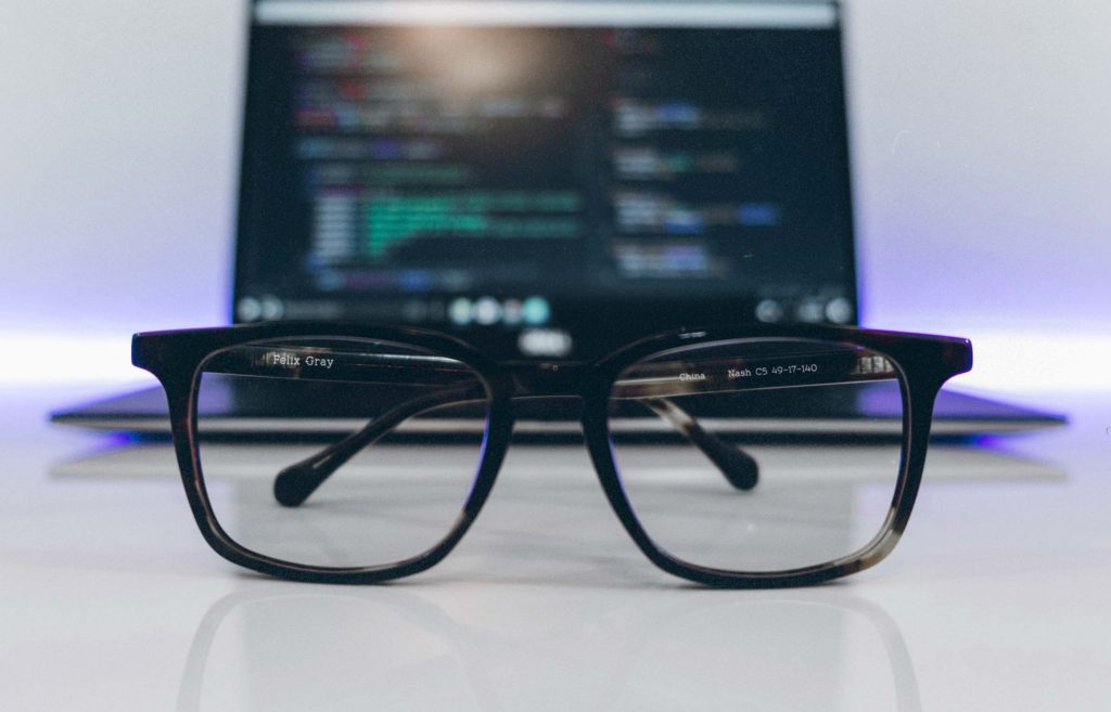 Felix Gray and Pixel are some of the best known blue-light filtering glasses. But if you're trying to solve eyestrain, you may need tinted glasses like Gunnar Glasses.