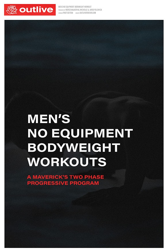 Men's No Equipment Bodyweight Workout