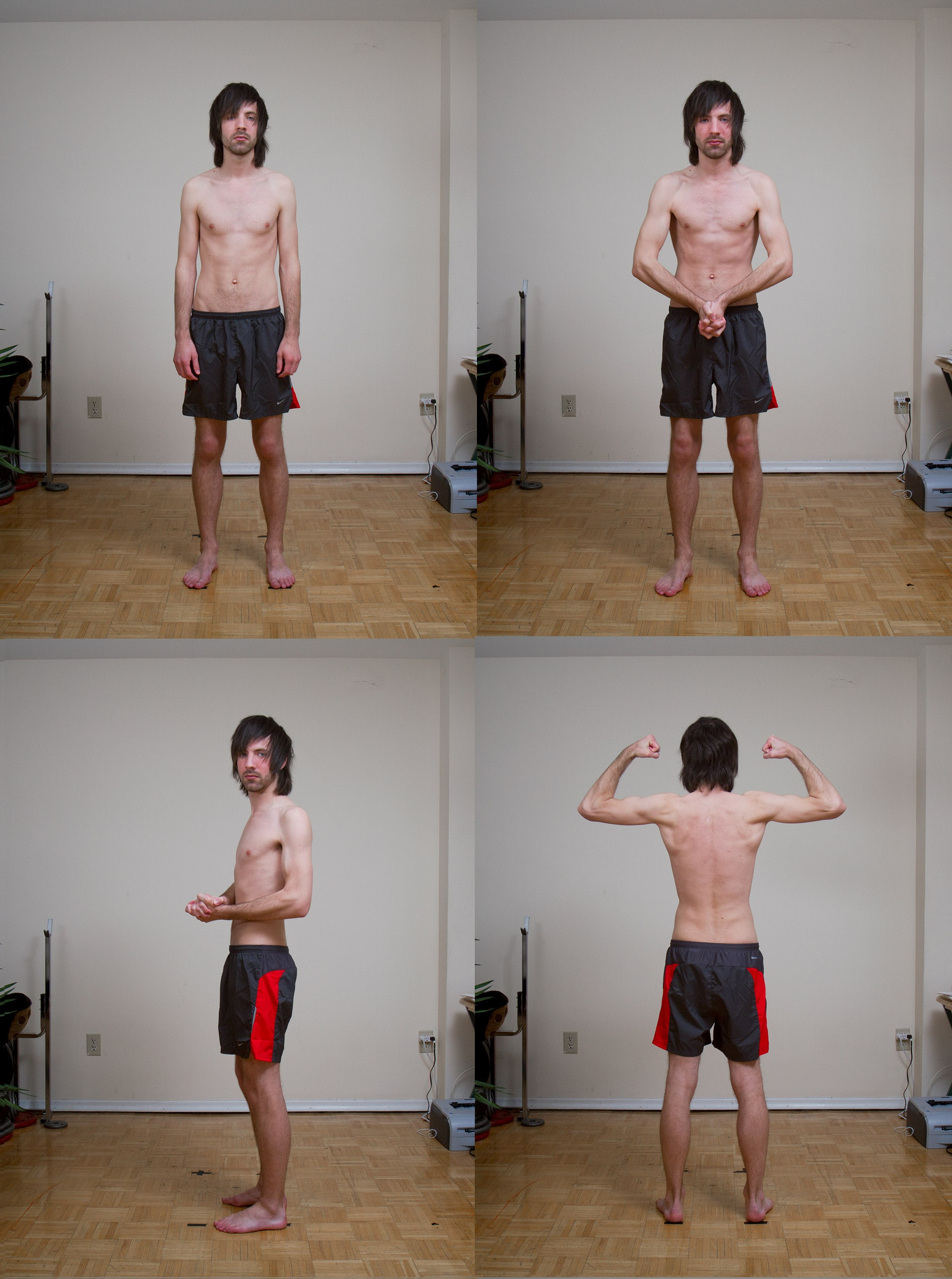 My before photos