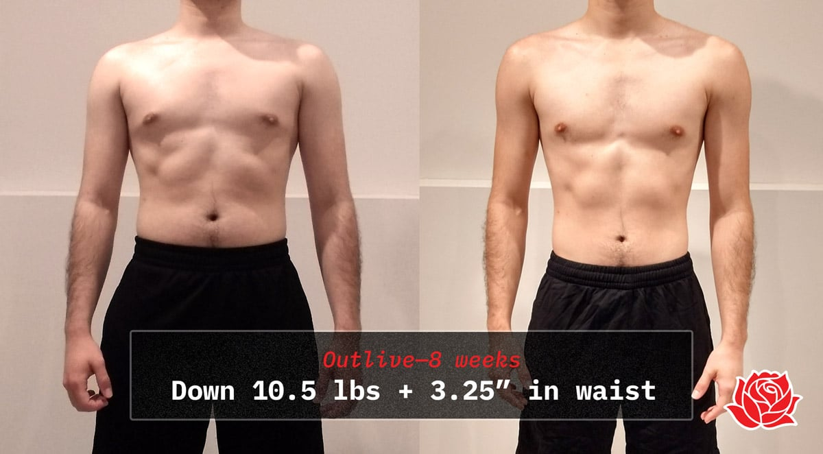 8 Week Body Recomposition Transformation