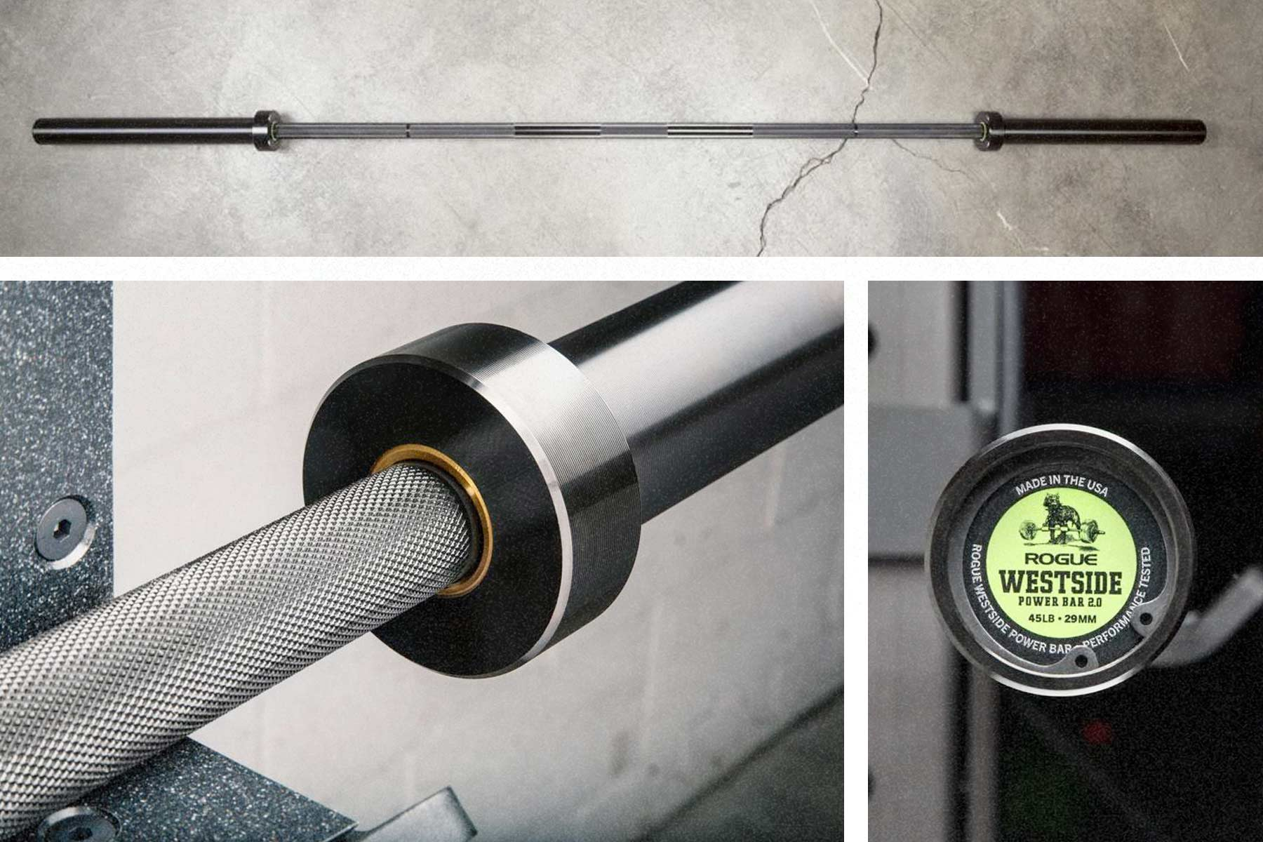Rogue Westside Power Barbell
