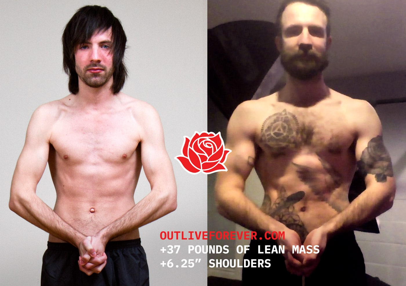 Jared Polowick Skinny Ectomorph Muscle Gain Body Transformation Before And After